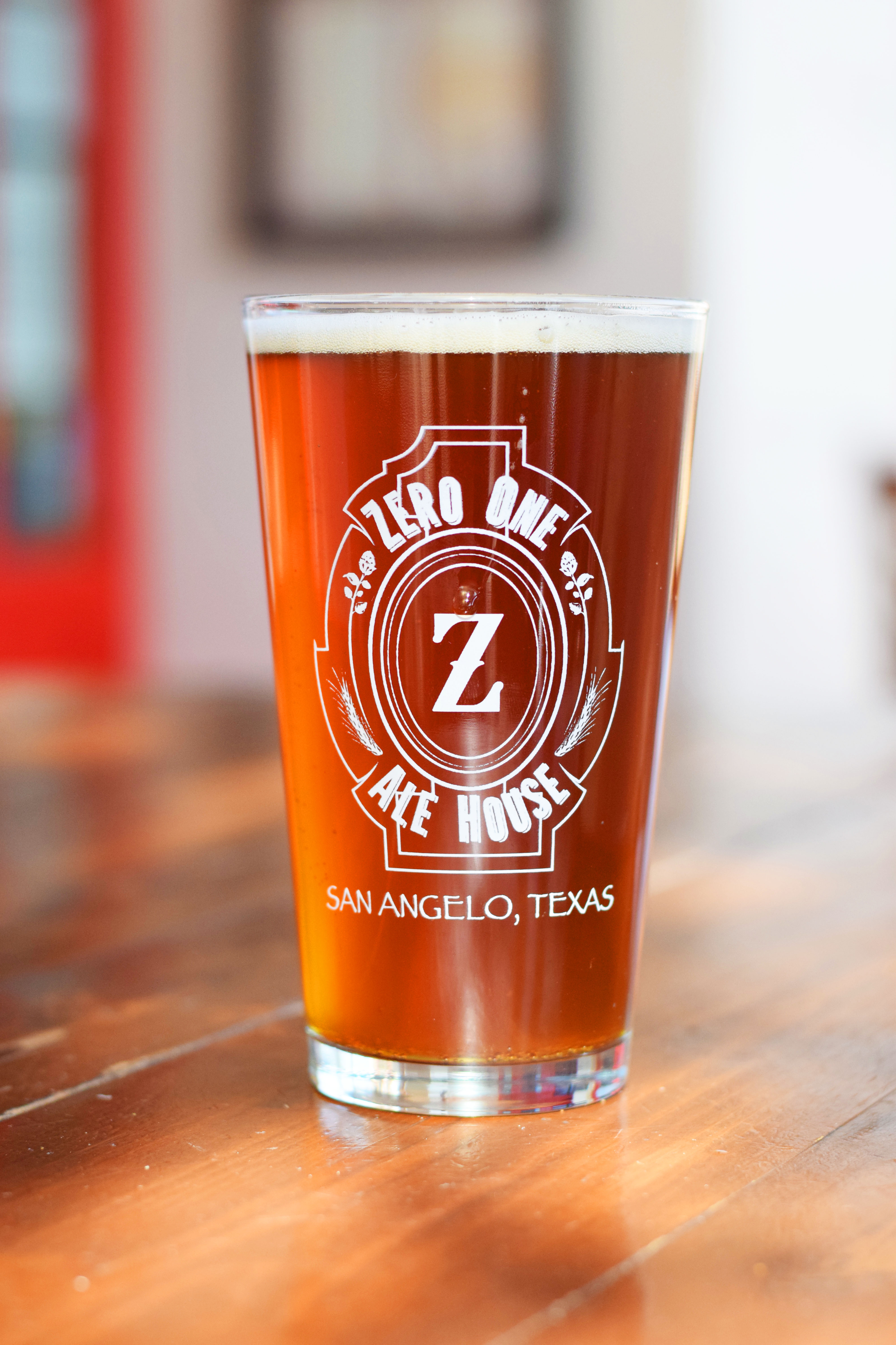 san angelo restaurant brewery zero one ale house zero one ale house. Black Bedroom Furniture Sets. Home Design Ideas